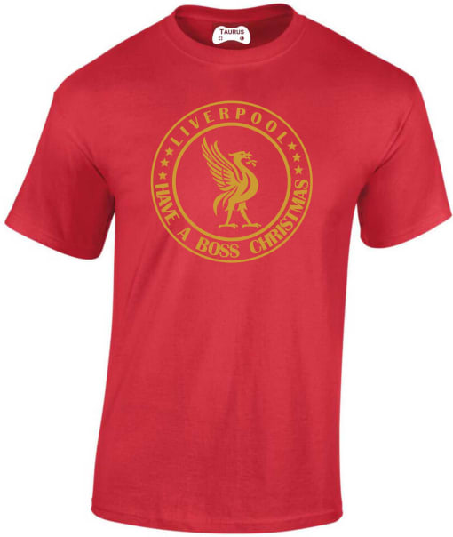 Liverpool Have A Boss Christmas T Shirt