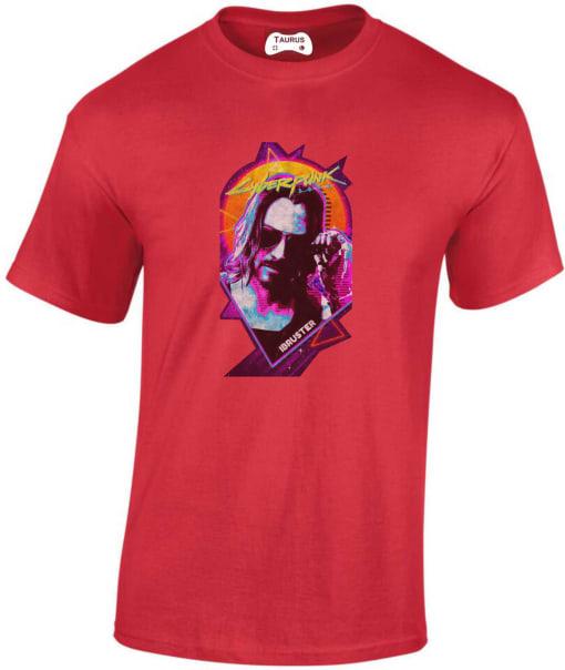 Keanu Reeves Cyberpunk 2077 T Shirt
