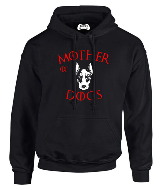 DOBERMANN  MOTHER OF DOGS HOODIE