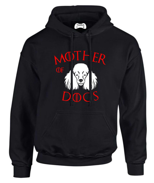 POODLE  MOTHER OF DOGS HOODIE