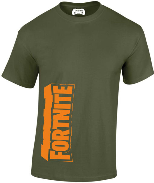 Fortnite Wording with Border Contrast Hoodie