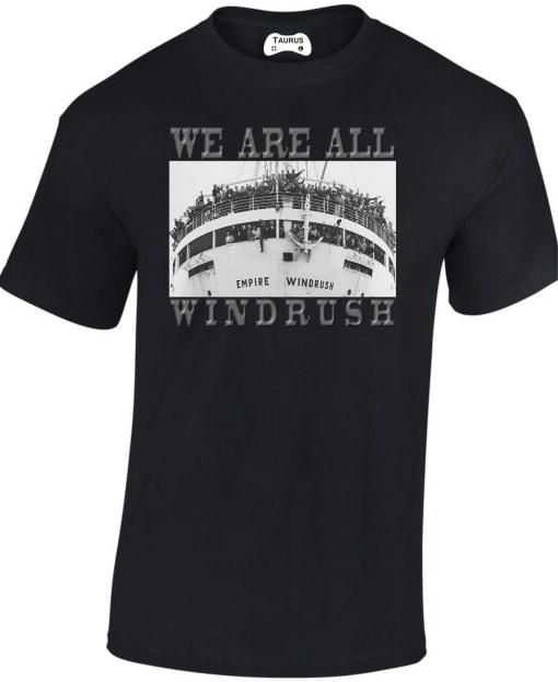 Windrush Black Lives Matter T Shirt