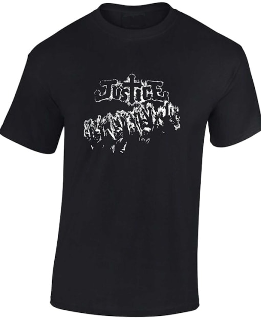 Justice Classic French House T Shirt