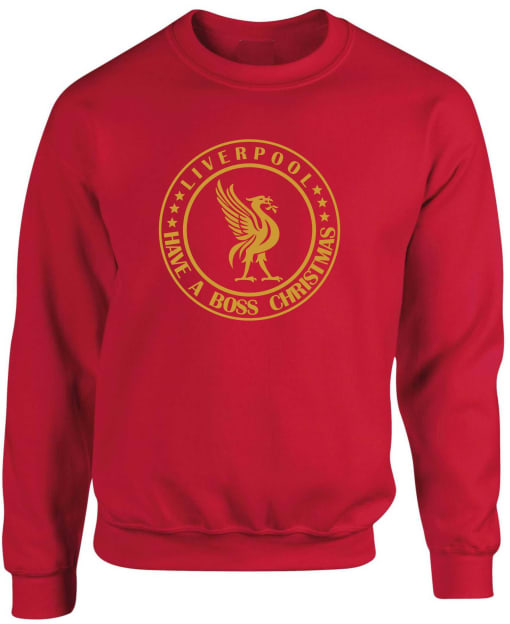 Liverpool Have A Boss Christmas Sweatshirt