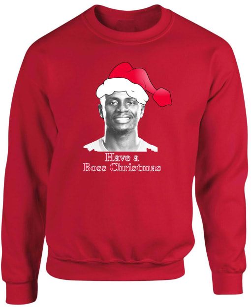Liverpool Mane Boss Christmas Sweatshirt