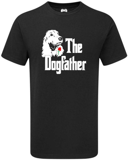 AMERICAN WATER  SPANIEL THE DOGFATHER T-SHIRT