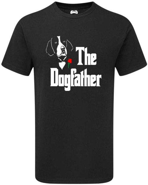 AMERICAN FOXHOUND THE DOGFATHER T-SHIRT