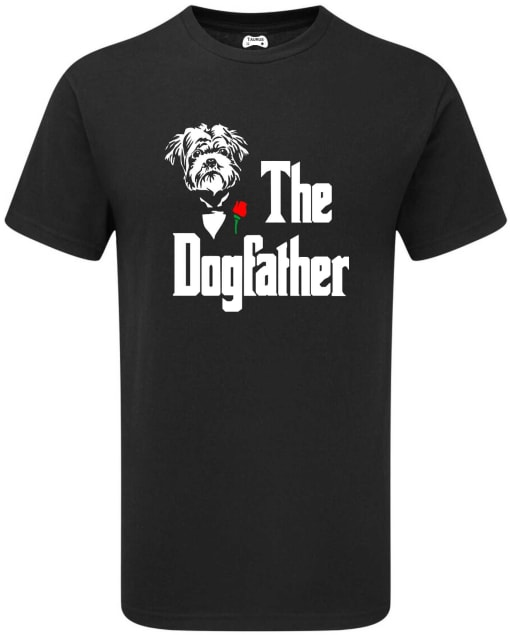 AFFENPINSCHER THE DOGFATHER T-SHIRT