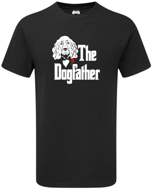 COCKER  SPANIEL THE DOGFATHER T-SHIRT