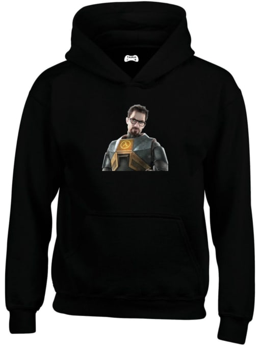 Gordon Freeman Classic Gaming Character Hoodie