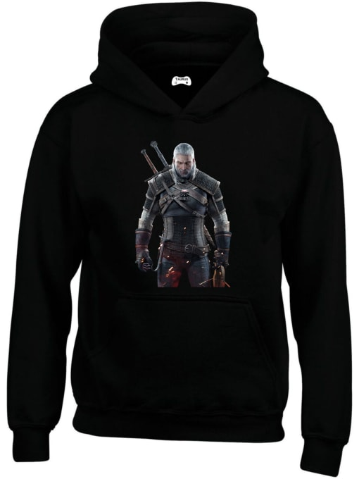 Geralt Classic Gaming Character Hoodie