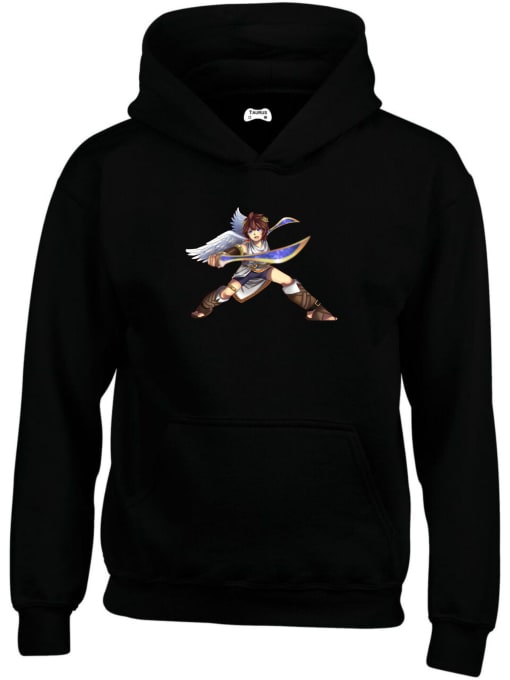 Pit of Kid Icarus Classic Gaming Character Hoodie