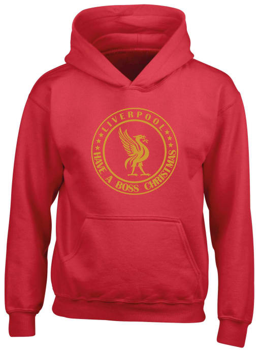Liverpool Have A Boss Christmas  Hoodie