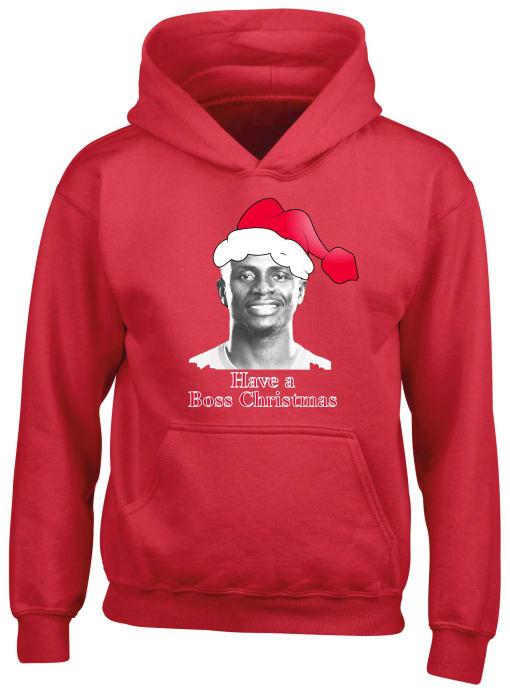 Liverpool Mane Boss Christmas Hoodie