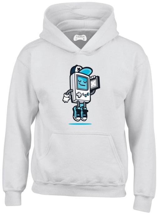 Robot Gameboy Kids Hoodie