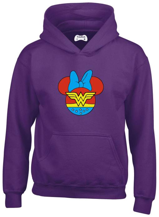 Minnie Mouse World Kids Hoodie