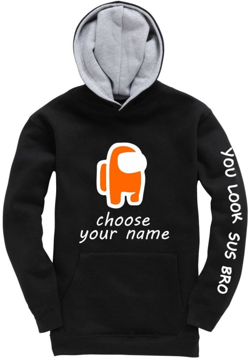 Among Us Personalised Hoodie
