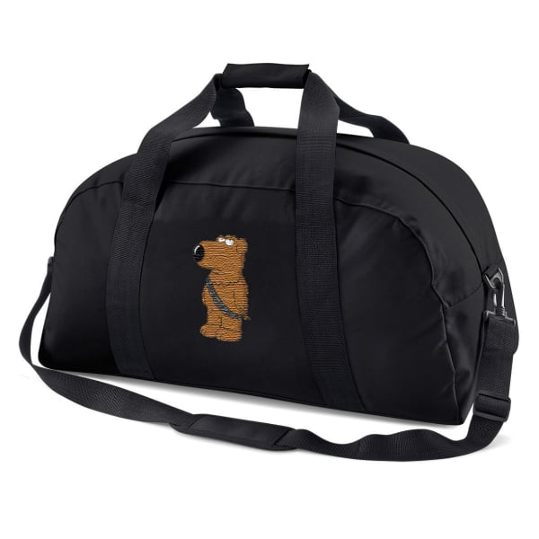 Family Guy Brian As Chewbacca Embroidered Sports Bag