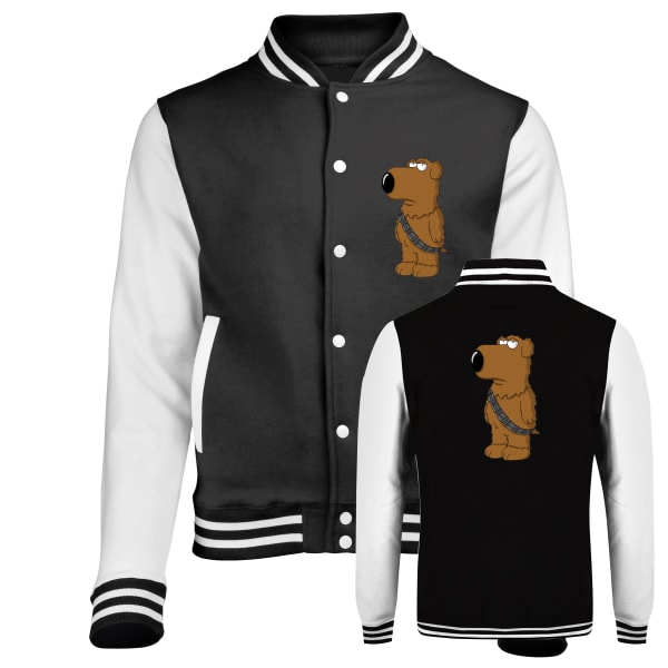 Family Guy Brian As Chewbacca Varsity Jacket