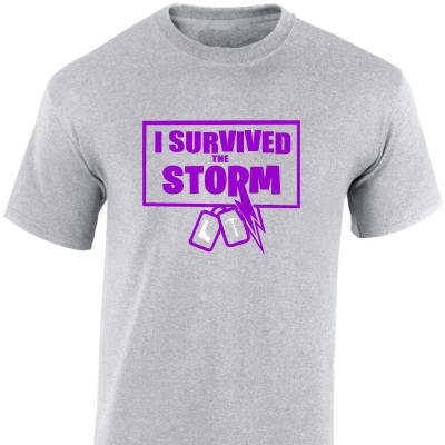 Fortnite 'I survived the storm' Contrast Hoodie