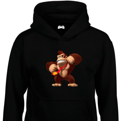 Donkey Kong Classic Gaming Character Hoodie