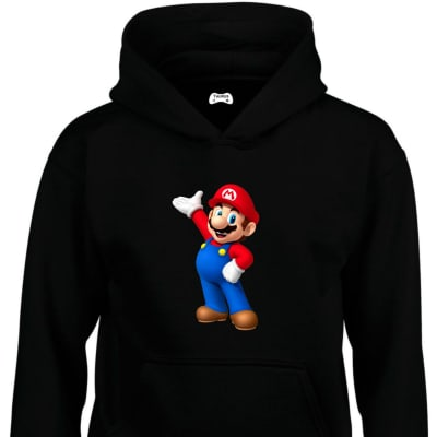 Mario Classic Gaming Character Hoodie
