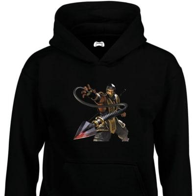 Scorpion Classic Gaming Character Hoodie
