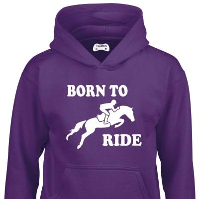 Born To Ride Kids Hoodie