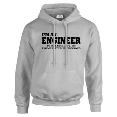 Engineer Hoodie Humour