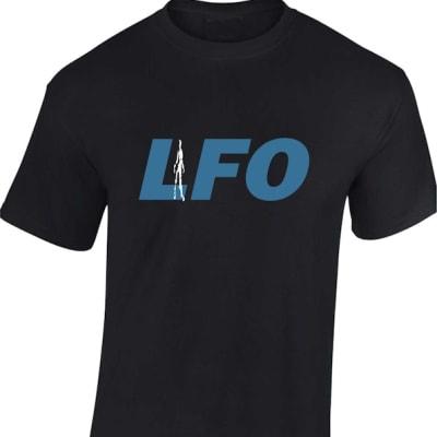 LFO Frequencies Rave T Shirt Bleep Techno Classic