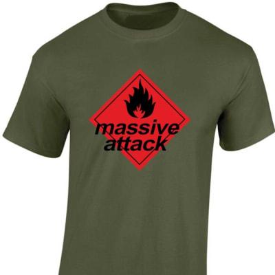 Massive Attack Blue Lines Rave T Shirt