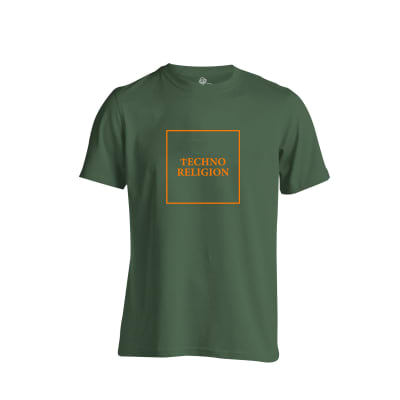 Techno Religion Rave T Shirt