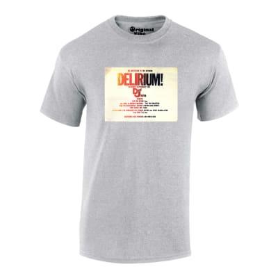 Delirium 1988 Flyer Rave T Shirt