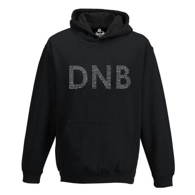 D n B Drum and Bass Rave Hoodie