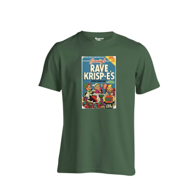Rave Krispies Flyer  T Shirt