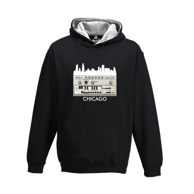 Chicago House Roland 303 Rave Hoodie