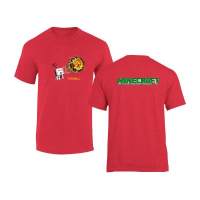 Minecraft T Shirt FireBall