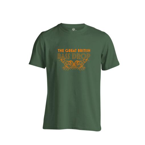 The Great British Bass Drop t Shirt
