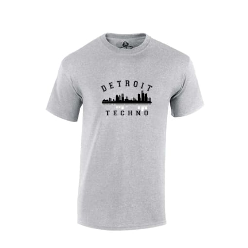 Detroit Techno Rave T Shirt
