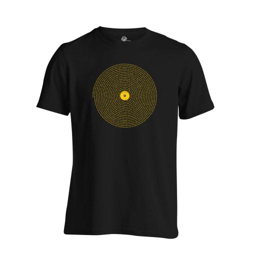 LCD Soundsystem T Shirt - Losing My Edge Lyrics