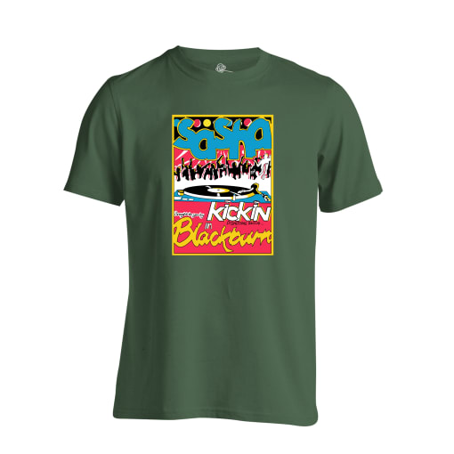 Sasha Blackburn Rave Flyer T Shirt