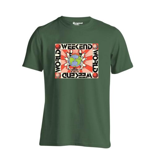 Weekend World 1989 Flyer Rave T Shirt