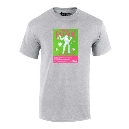 Space Funk 1991 The Pavilion Manchester Flyer Rave T Shirt