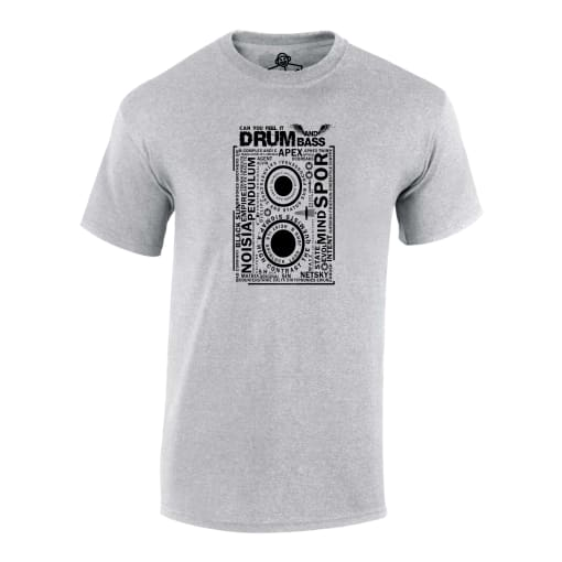 Drum and Bass Rave T Shirt