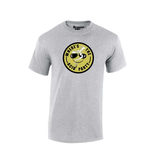 Where's The Acid Party Rave T Shirt