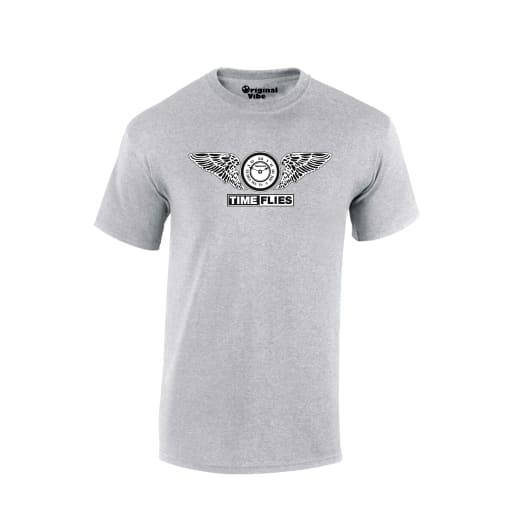 Time Flies Rave T Shirt