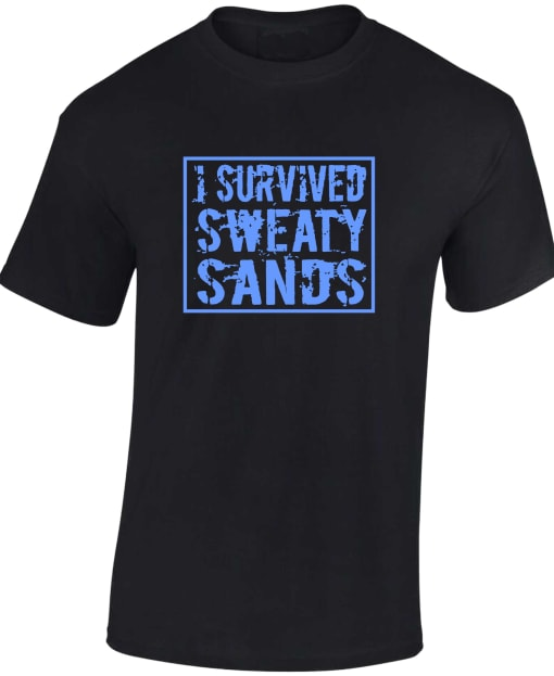 I Survived Sweaty Sands Fortnite T Shirt