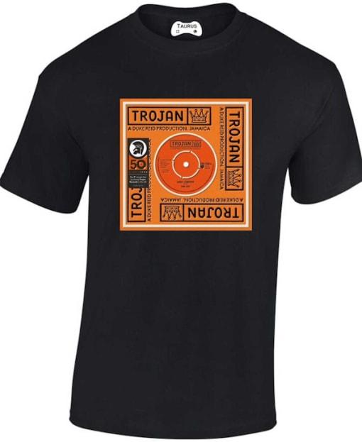 Trojan Records Duke Reid Rave T Shirt