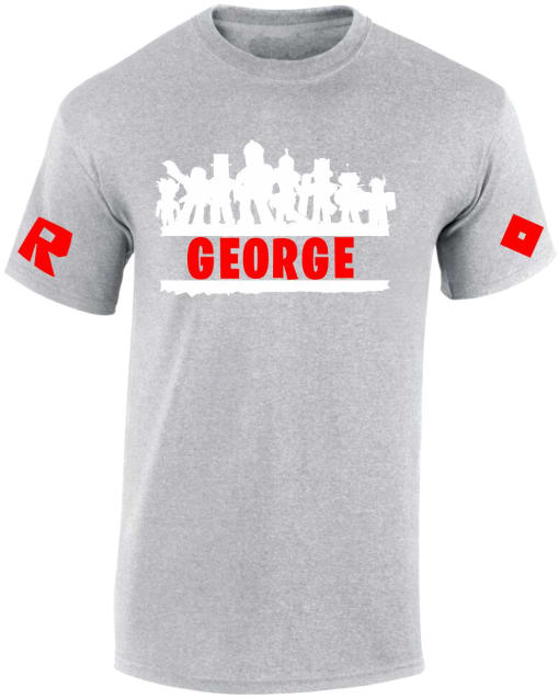 Roblox Personalised Character T-shirts