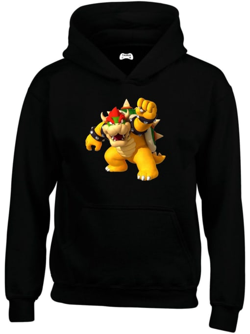 Bowser Classic Gaming Character Hoodie